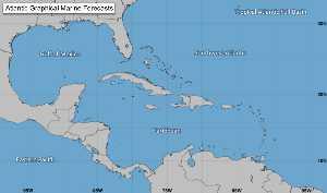 Météo des ouragans : Prévision du NHC à 5 jours.