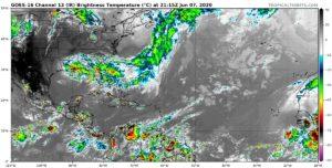 Image satellite Atlantique 7 juin 2020