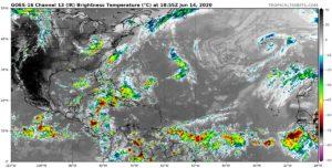 Image satellite Atlantique 14 juin 2020
