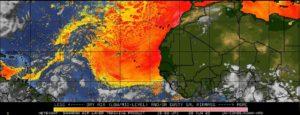 Sable et air sec Atlantique juin 2020