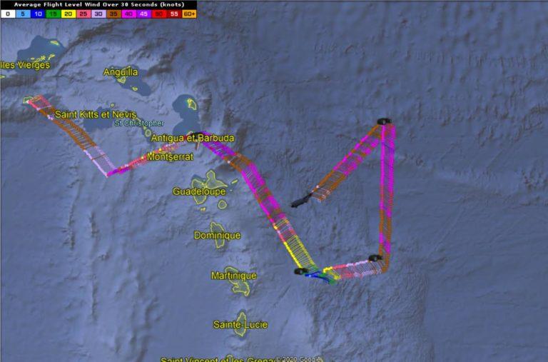 Cyclone potentiel 9 - investigation Hunter - 29/07/2020 4h30 UTC